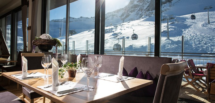 Das Tuxer Fenerhaus im Skigebiet Hintertux Gletscher