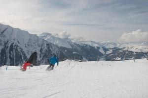 Genießerberg Ahorn: 5,5 km lange Talabfahrt nach Mayrhofen