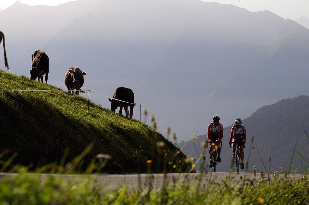 Mittelschwere Mountainbike Tour im Zillertal: Mountainbike Hintertux