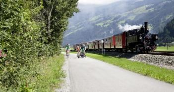 Dampfzug Zillertalbahn