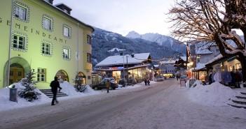 Mayrhofen Zillertal im Winter