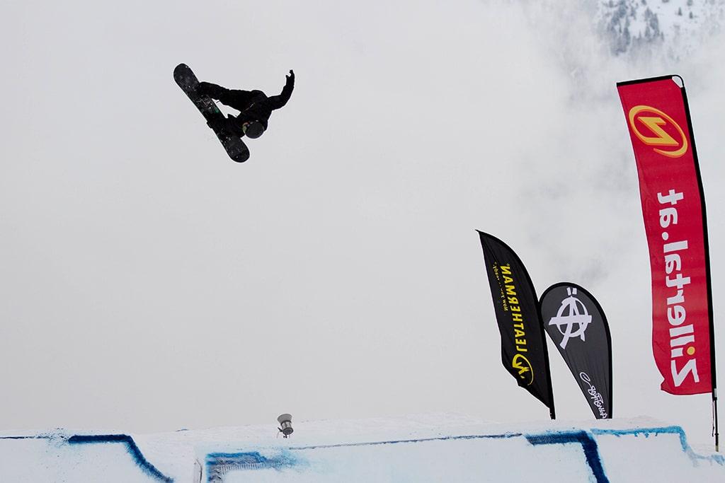 Competion und Snowboardtest - irgendwie beides: Die Zillertal VÄLLEY RÄLLEY
