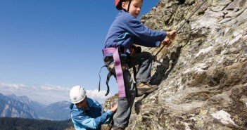Kinderklettersteig am Spieljoch, Zillertaler Alpen, Tirol