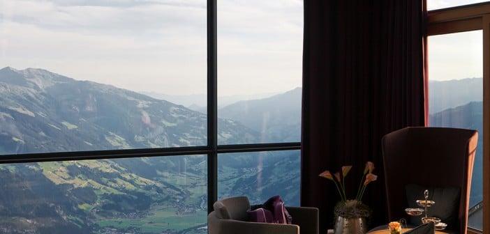 Über den Wolken kann der Freiraum wohl grenzenlos sein – das Cafe Freiraum Mayrhofen