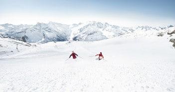 Skifahren in Hintertux