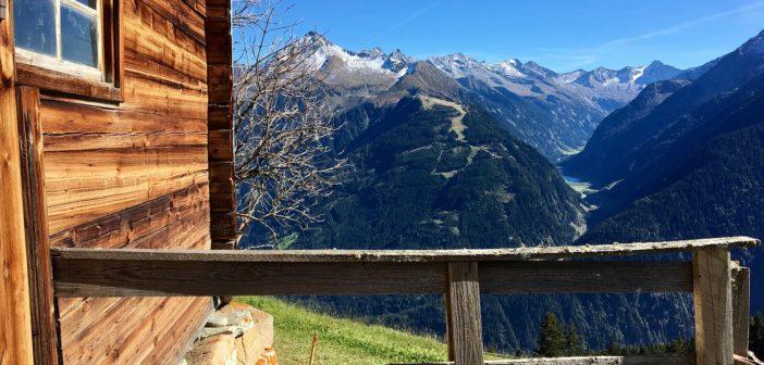Überblick Ferienwohnungen im Zillertal