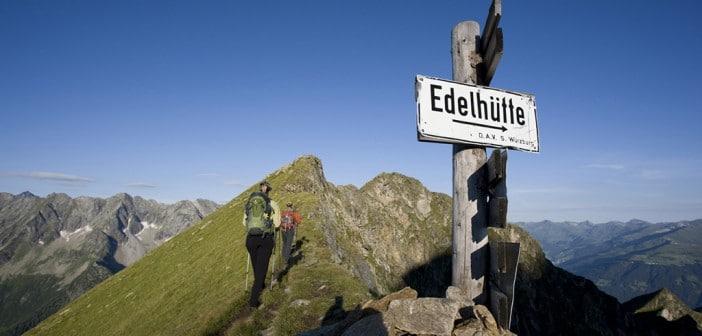 In 7 Tagen durch das Zillertal Wandern - der Berliner Höhenweg