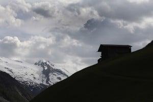Talschluss und Gletscher im Zillertal