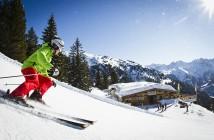 Das Skigebiet Gerlos in der Zillertal Arena