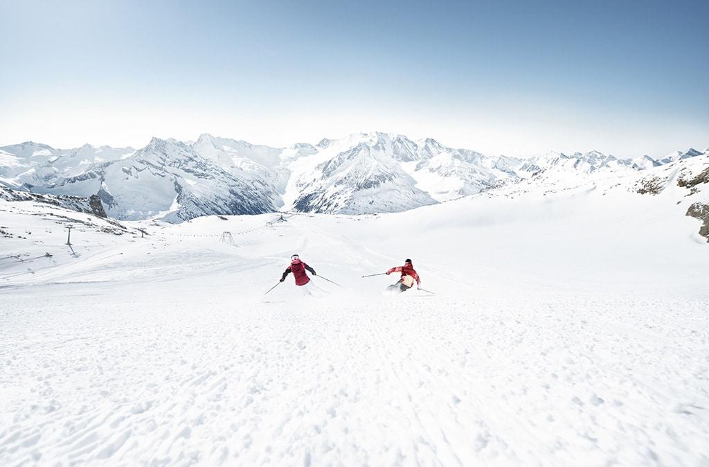 Hintertuxer Gletscher Schlegeisabfahrt