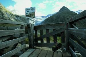 Blick von der Berliner Hütte auf die Zillertaler Alpen