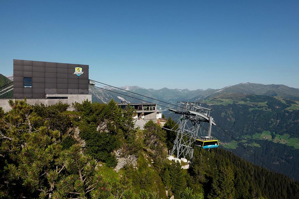 Ahornbahn in Mayrhofen - Österreichs größte Gondelbahn