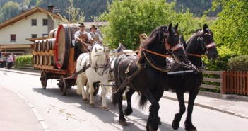 Das Zillertaler Pferdefest: Über 70 Kutschen und Reitergespanne