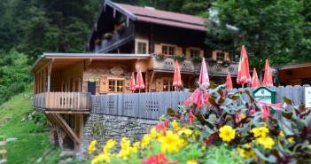 Grüne Wand Hütte Zillertal