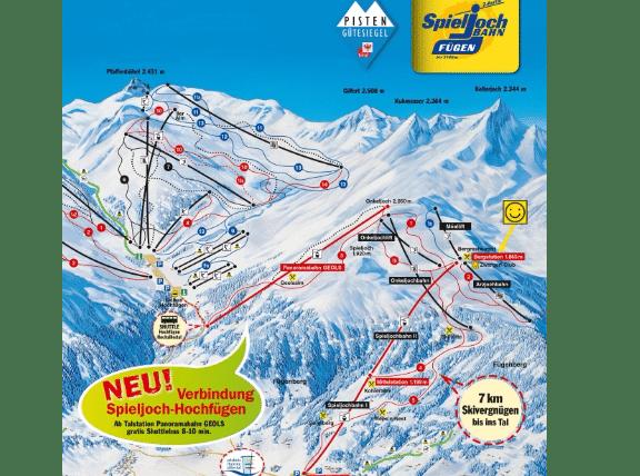 Fügen Skigebiet Zillertal